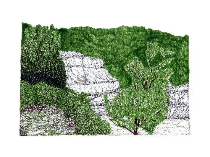 Mountain Strip Mine Landscape No. 2
