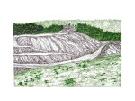 Mountain Strip Mine Landscape No. 9