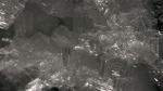 Ice cavern detailing ice dating 75,000 years, below ice wedge, Utqiagvik, AK II