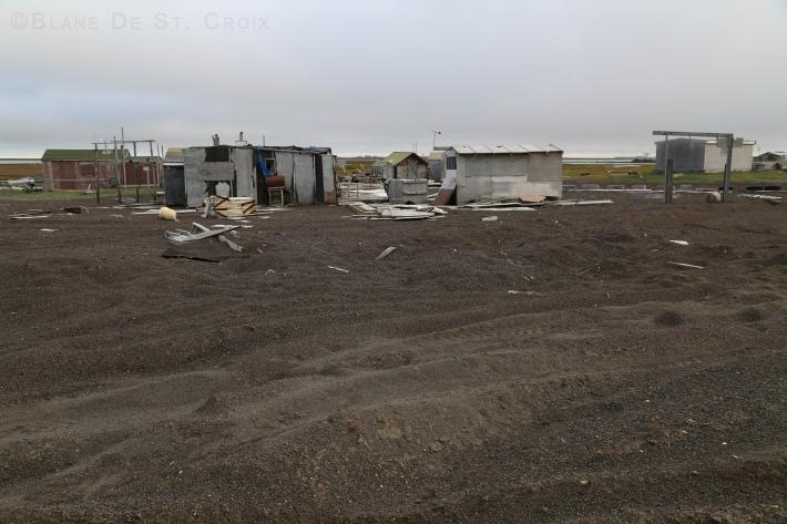 Inupiaq fishing village, high Arctic, Point Barrow, most northern point in Alaska