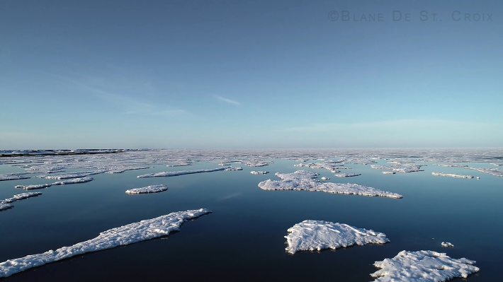 2019, devastating loss of sea ice, Arctic Ocean, High Arctic, Utqiagvik region, AK